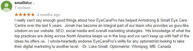 smallidoc review of sunglass marketing