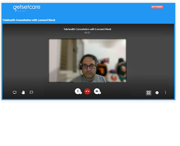VideoChat Screen