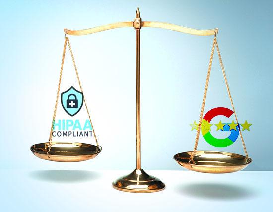 HIPPA Google Scale