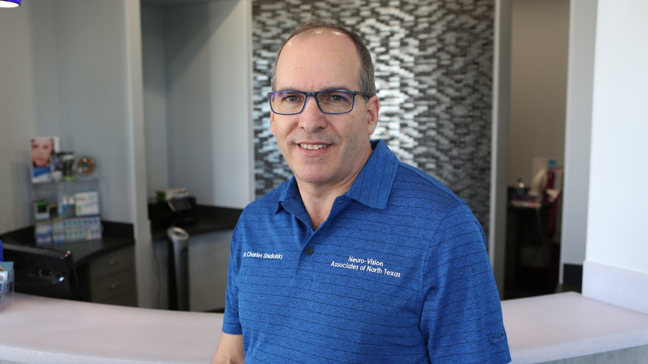 Charles Shidlofsky vision therapy marketing