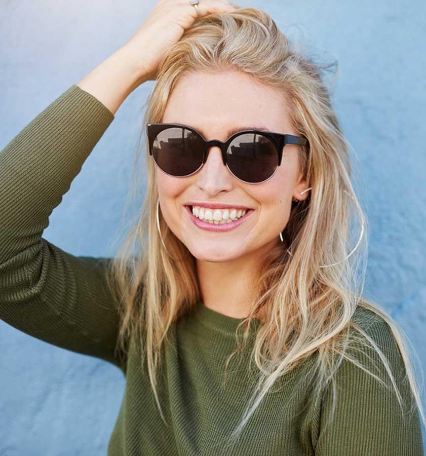 lady sunglasses loss leader marketing campaign